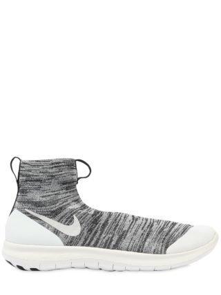 Gyakusou Veil High Top Sneakers (wit/zwart)