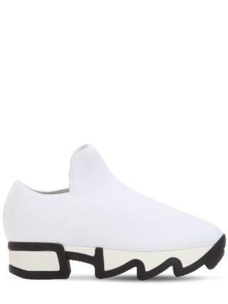 45mm Neoprene Slip-on Sneakers (wit)