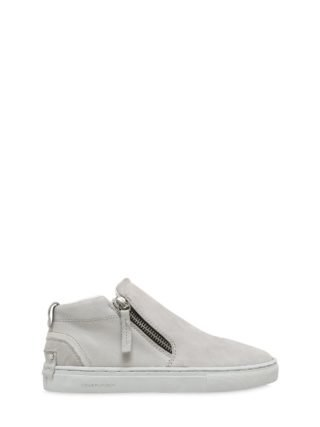 Nappa Leather Sneakers (grijs)