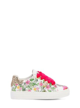 Jungle Book Printed Leather Sneakers (multicolor)