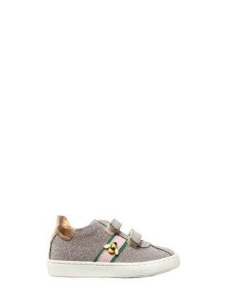 Glittered Sneakers W/ Bee Detail (roze)