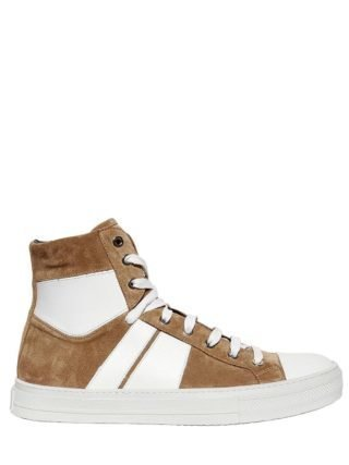 Sunset Suede High Top Sneakers (wit)