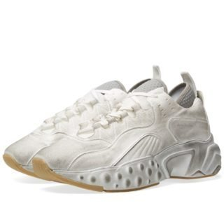 Acne Studios Rockaway Tumbled Oversize Sneaker (White)