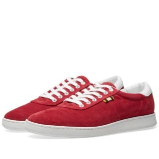 Aprix Suede Low Sneaker (Red)