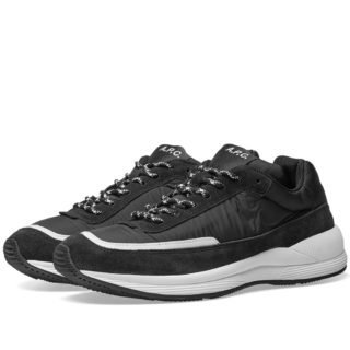 A.P.C. Running Sneaker (Black)