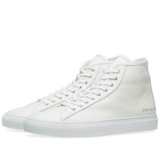 Common Projects Tournament High Leather (White)