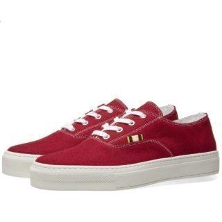 Aprix Canvas Sneaker (Red)