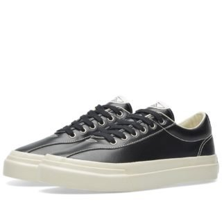 Stepney Workers Club Dellow Leather Sneaker (Black)