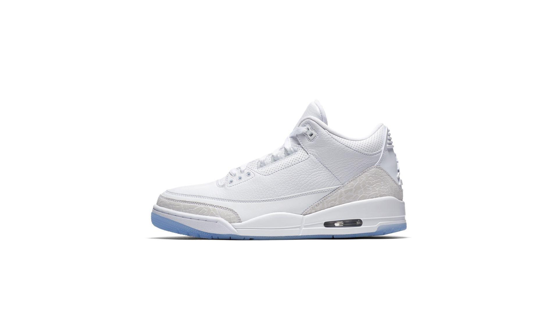 Air Jordan 3 Pure White (136064-111)