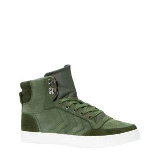 hummel Stadil Winter sneakers grijsgroen (heren) (groen)