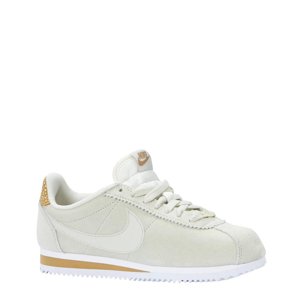 huge selection of c928a 8893f Nike Classic Cortez Premium suède sneakers beige (dames) (bruin)