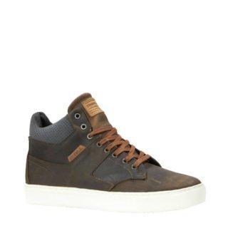 O'Neill leren sneakers bruin (heren) (bruin)