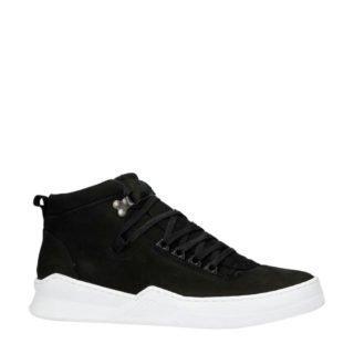 Sacha nubuck sneakers zwart (heren) (zwart)