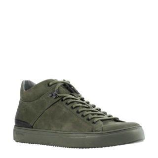 Blackstone leren sneakers groen (heren) (groen)