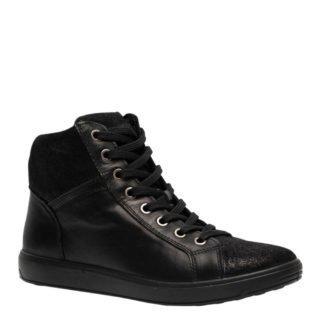 Natuform leren sneakers zwart (dames) (zwart)
