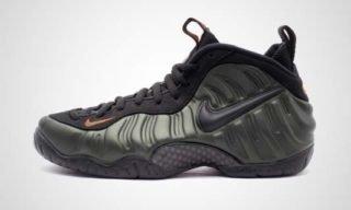 "Air Foamposite Pro ""Sequoia"" Sneaker"