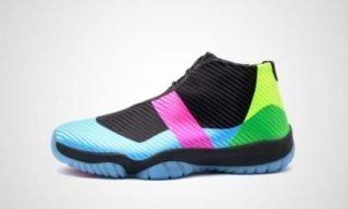 Air Jordan Future Q54 GS (Zwart/multi) Sneaker