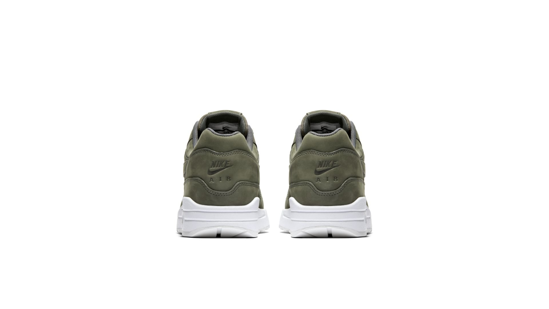 "Nike Air Max 1 Premium ""Nubuck Army Green"" (454746-018)"