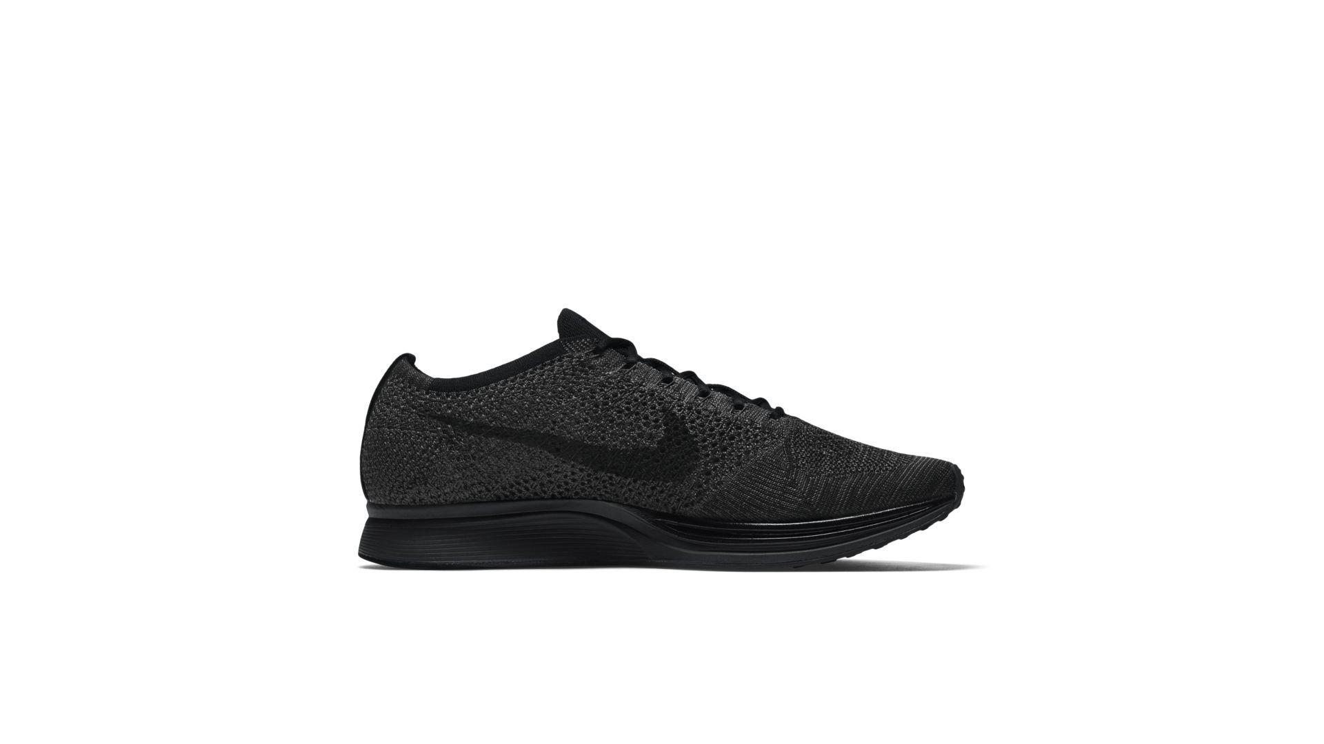 Nike Flyknit Racer Triple Black (526628-009)