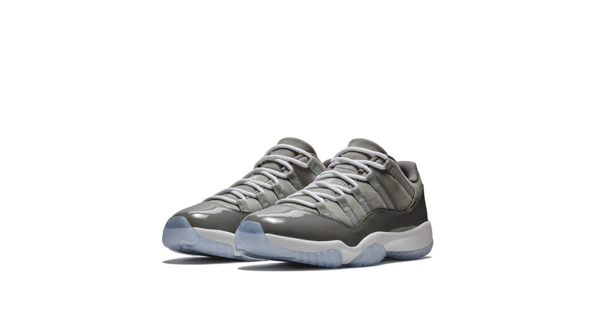Air Jordan 11 Low 'Cool Grey' (528895-003)
