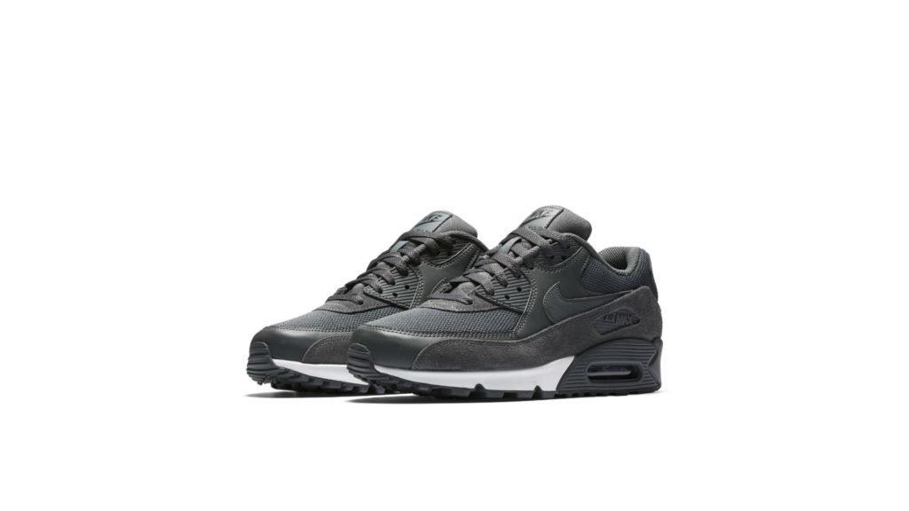 Nike Air Max 90 Essential 'Grey Suede' (537384-078)