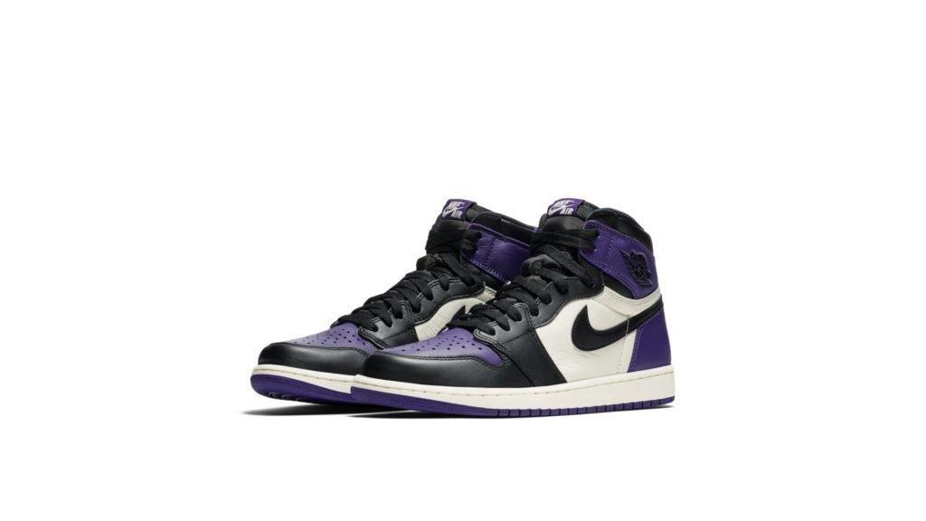 Air Jordan 1 Retro 'Court Purple' (555088-501)