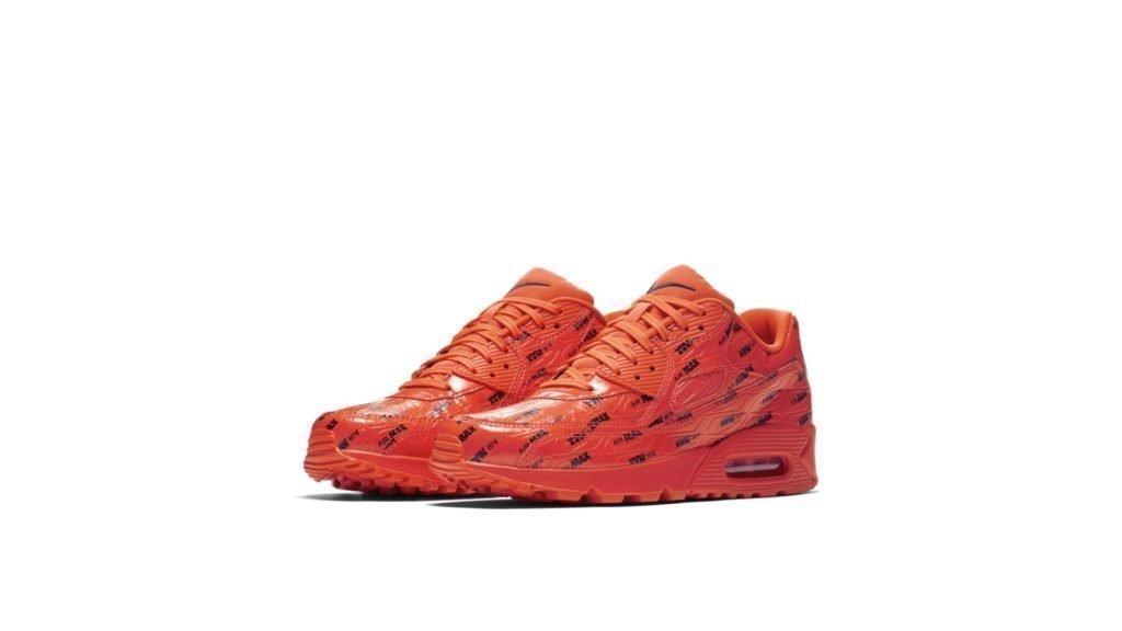 Nike Air Max 90 Premium Air Max Pack 'Orange' (700155-604)