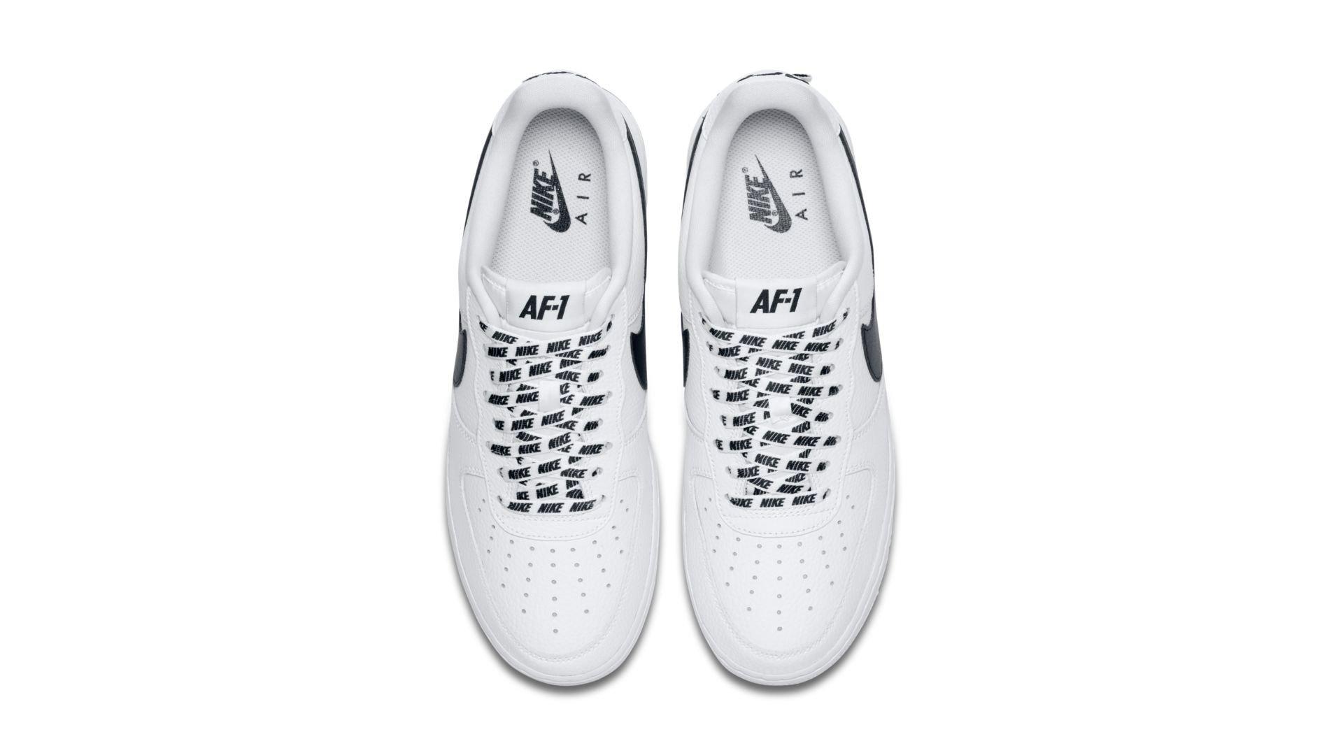 "Nike Air Force 1 Low x NBA Pack ""White/Black"" (823511-103)"