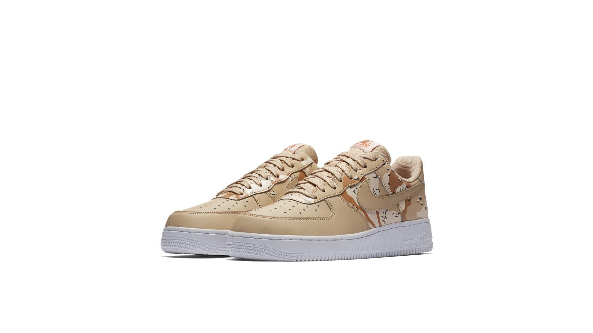"Nike Air Force 1 '07 Lv8 ""Bio Beige"" Camo (823511-202)"