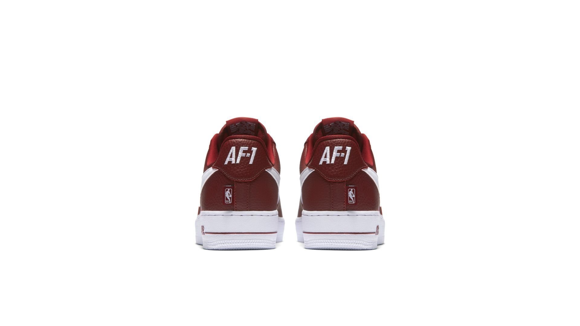 "Nike Air Force 1 Low x NBA Pack ""Burgundy"" (823511-605)"