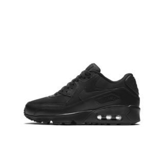 Nike Air Max 90 Mesh Kinderschoen - Zwart Zwart