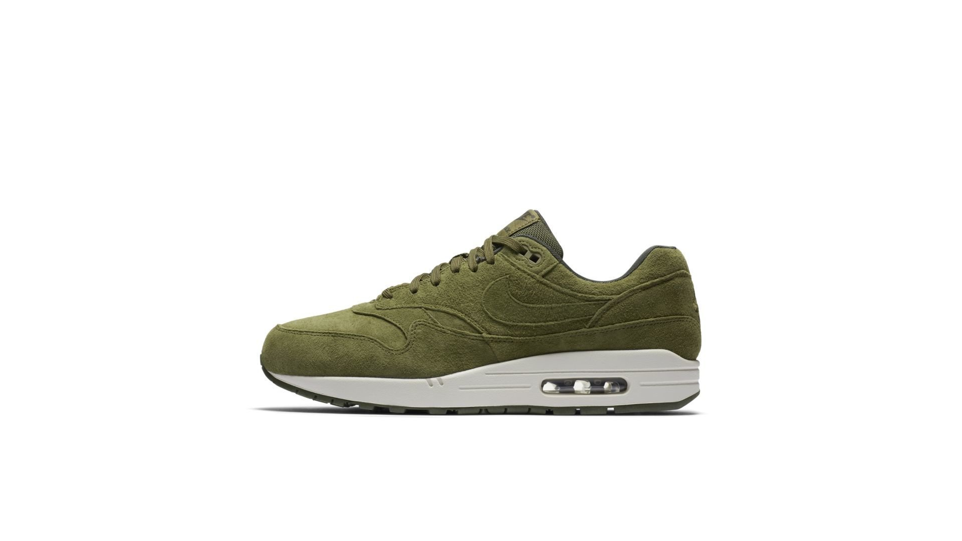 Nike Air Max 1 'Green Suède' (875844-301)