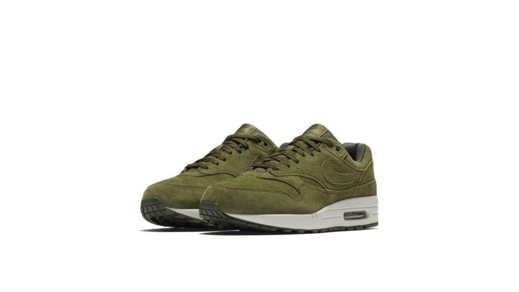 Nike Air Max 1 'Green Suède' (875844-301)