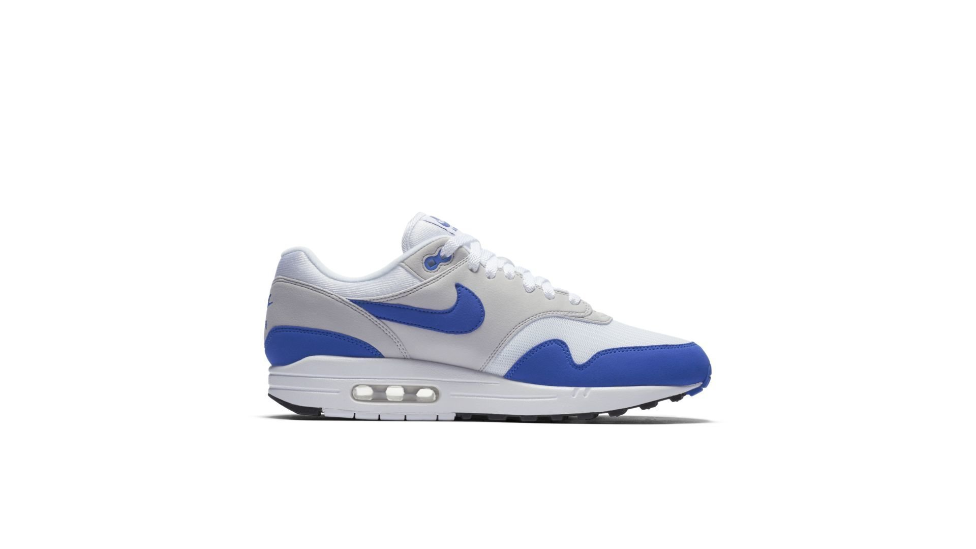 "Nike Air Max 1 Anniversary OG ""White/Royal Blue"" (908375-102)"
