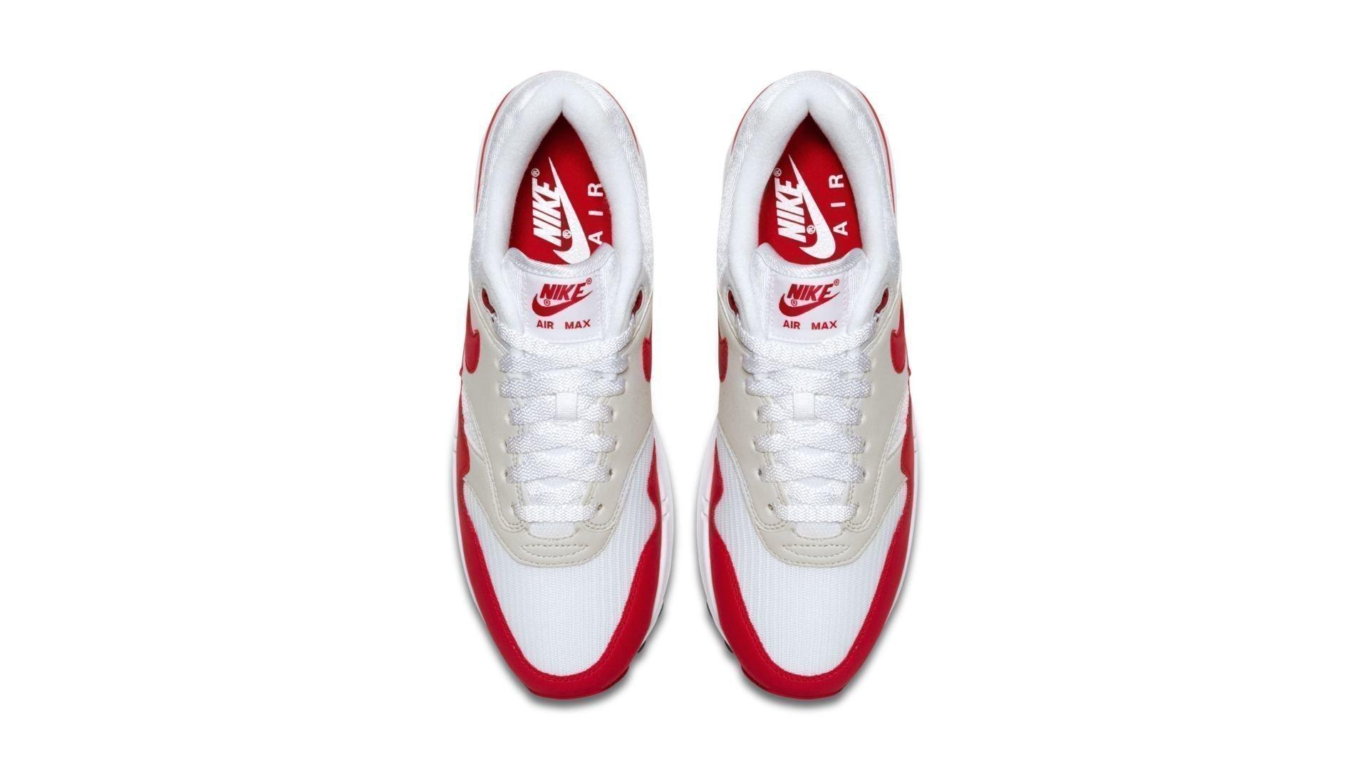 Nike Air Max 1 Anniversary OG 'University Red' (908375-103)