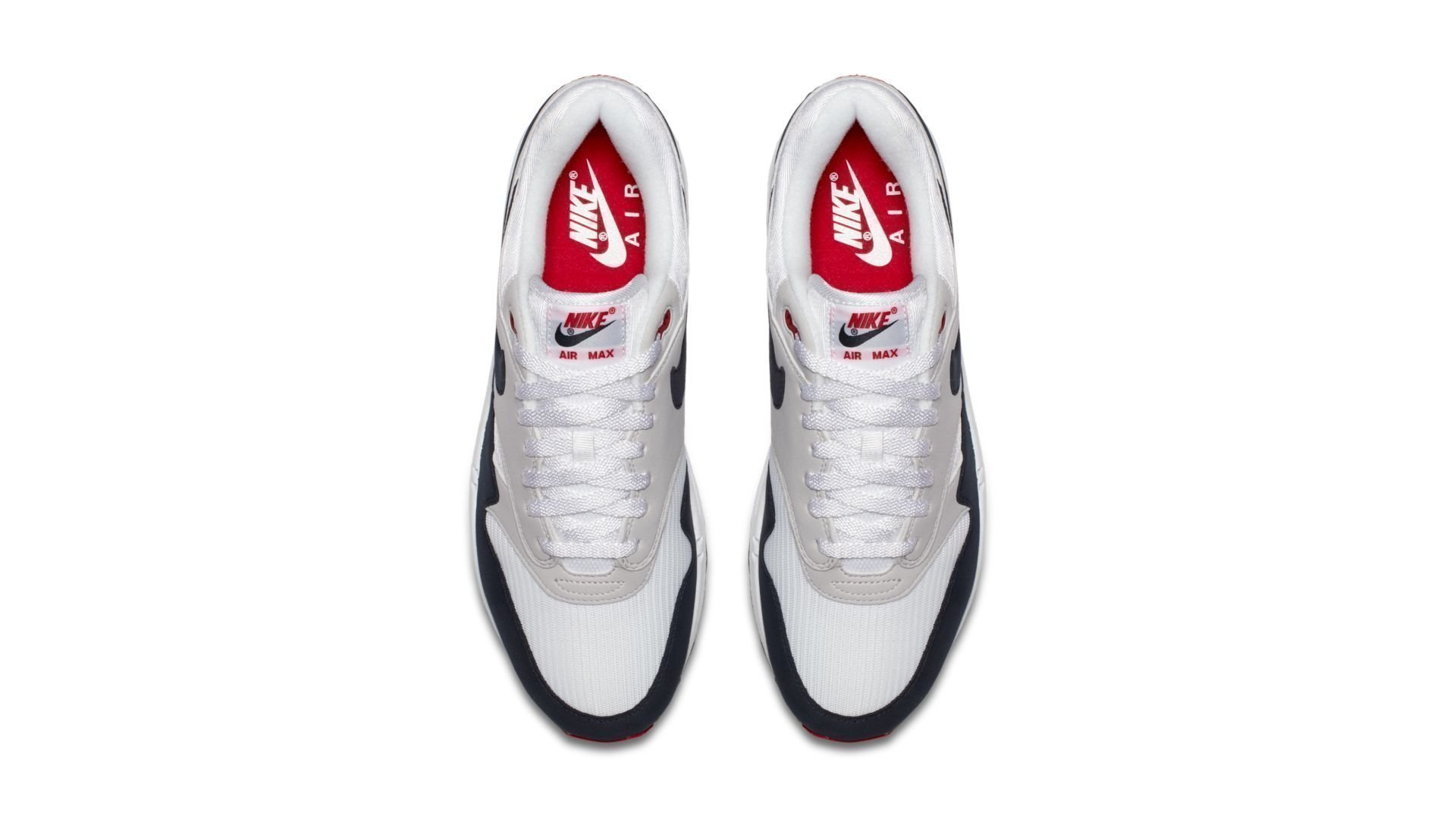 """Nike Air Max 1 Anniversary """"White/Obsidian"""" (908375-104)"""