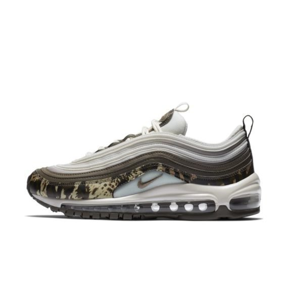 Nike Air Max 97 Premium Animal Damesschoen – Bruin Bruin
