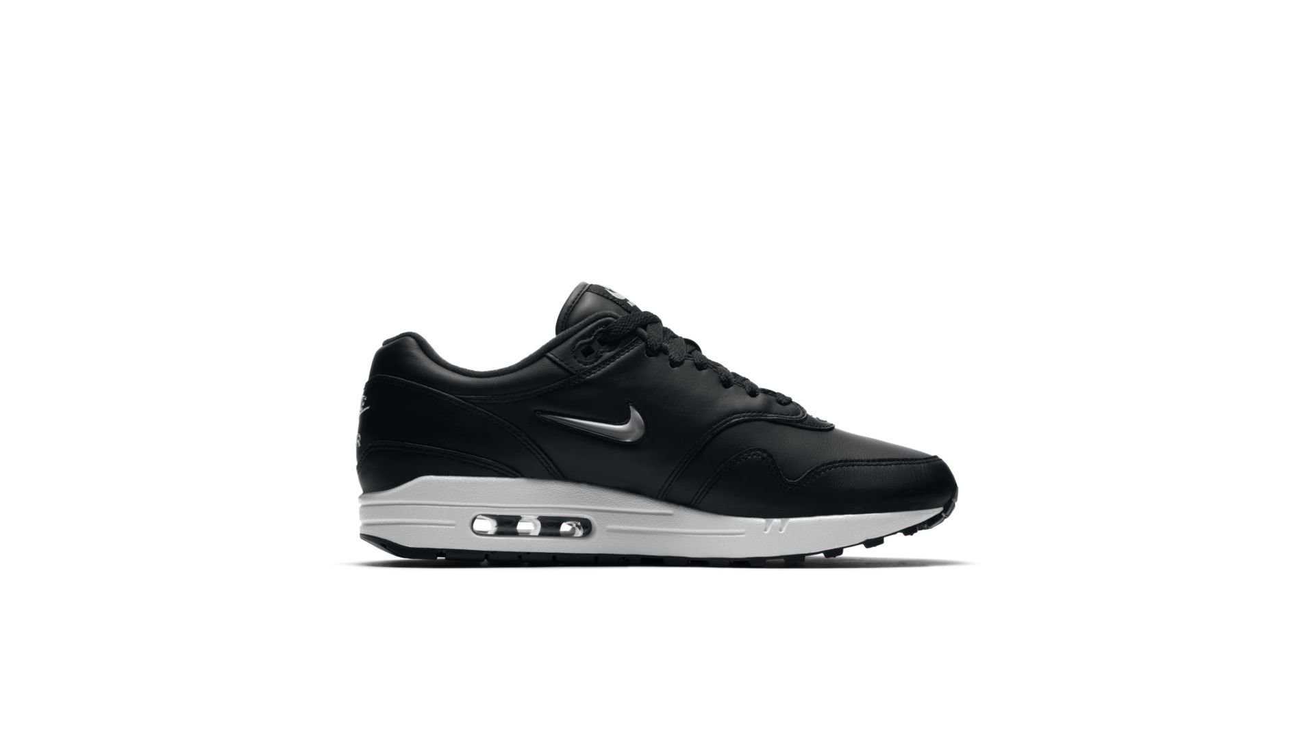 Nike Air Max 1 Premium SC Jewel Black Metallic Silver (918354-001)