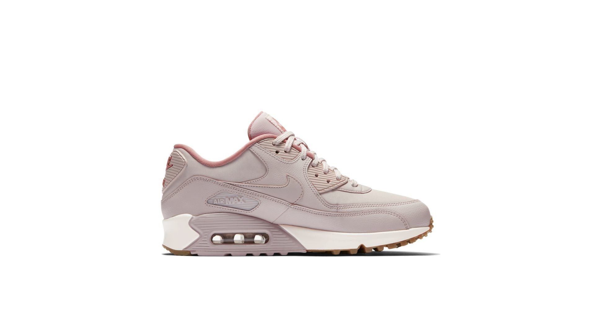 Nike Air Max 90 Essential Leather Silt Red (921304-600)
