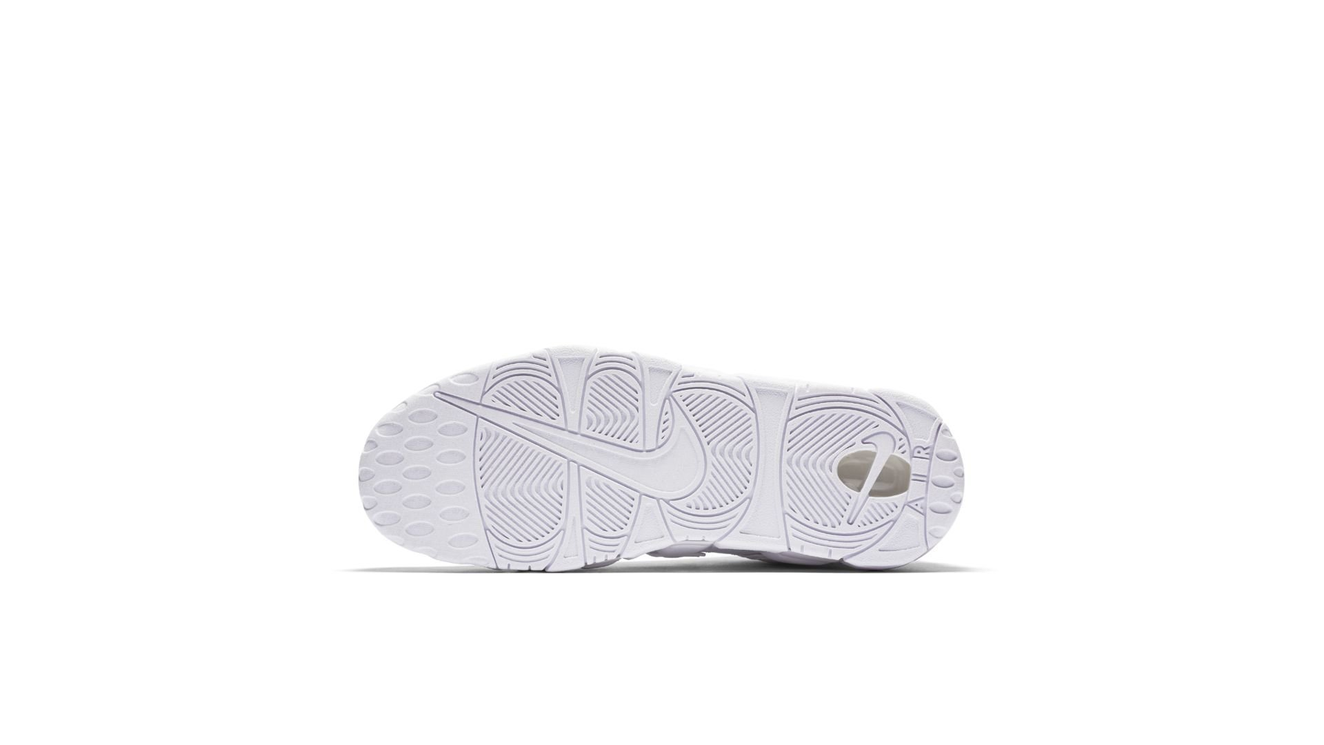 Nike Air More Uptempo 'Triple White' (921948-100)