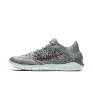 Nike Free RN Flyknit 2018 Hardloopschoen voor dames - Olive Olive