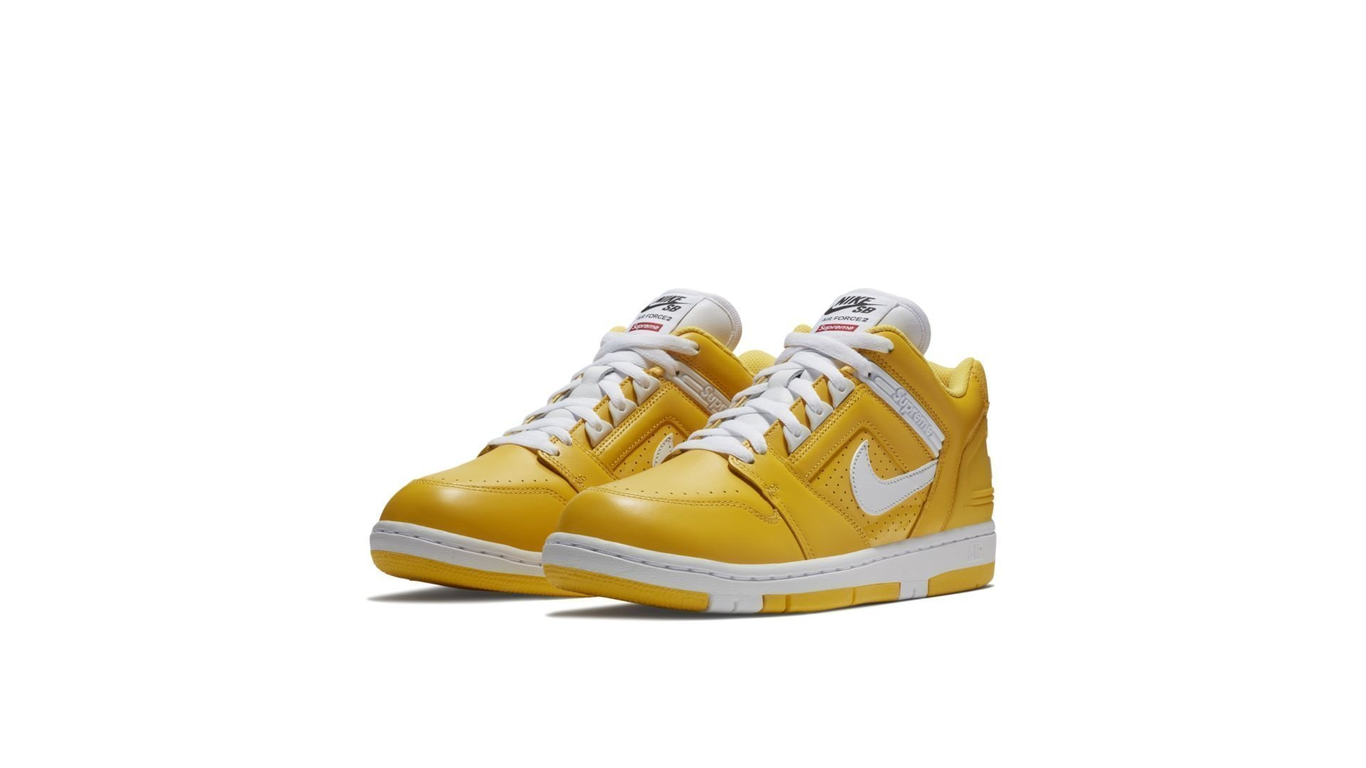 "Nike SB x Supreme Air Force 2 Low ""Yellow"" (AA0871-717)"