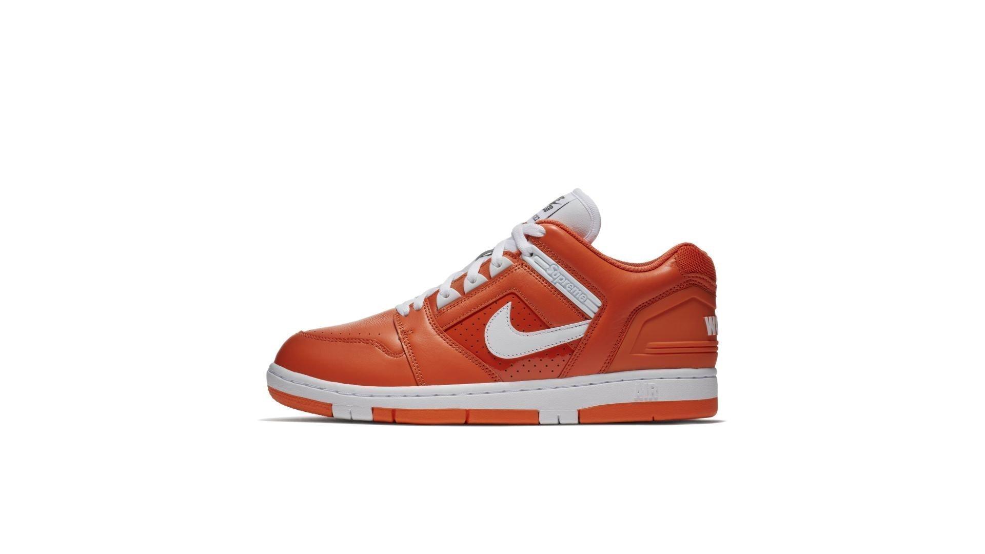 "Nike SB x Supreme Air Force 2 Low ""Orange"" (AA0871-818)"