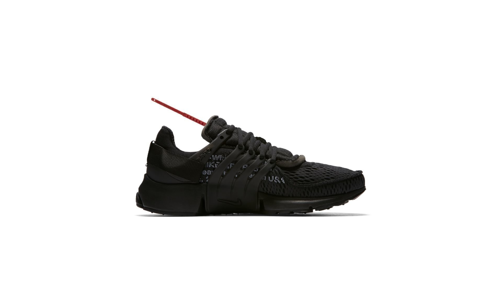 Off-White x Nike Air Presto 'Black' (AA3830-002)