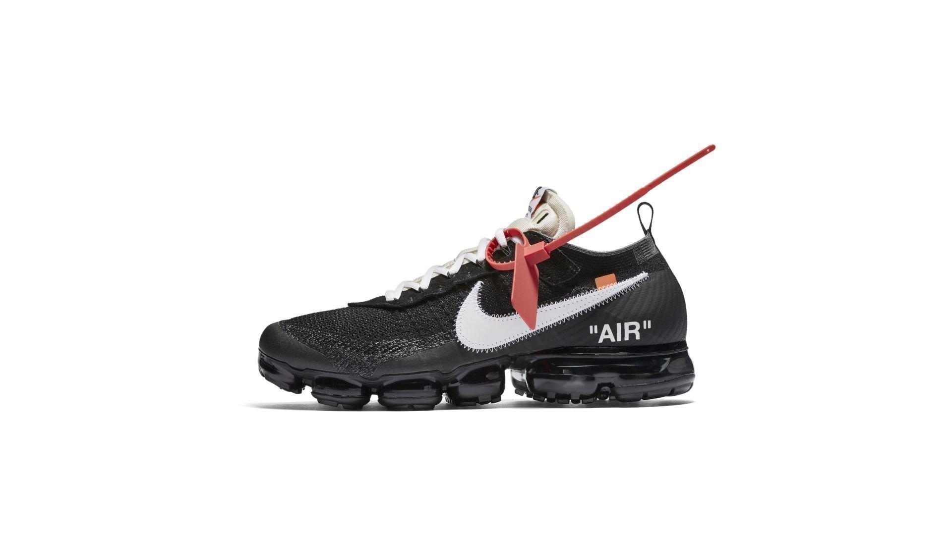 Nike The Ten Air VaporMax 'Off White' (AA3831-001)