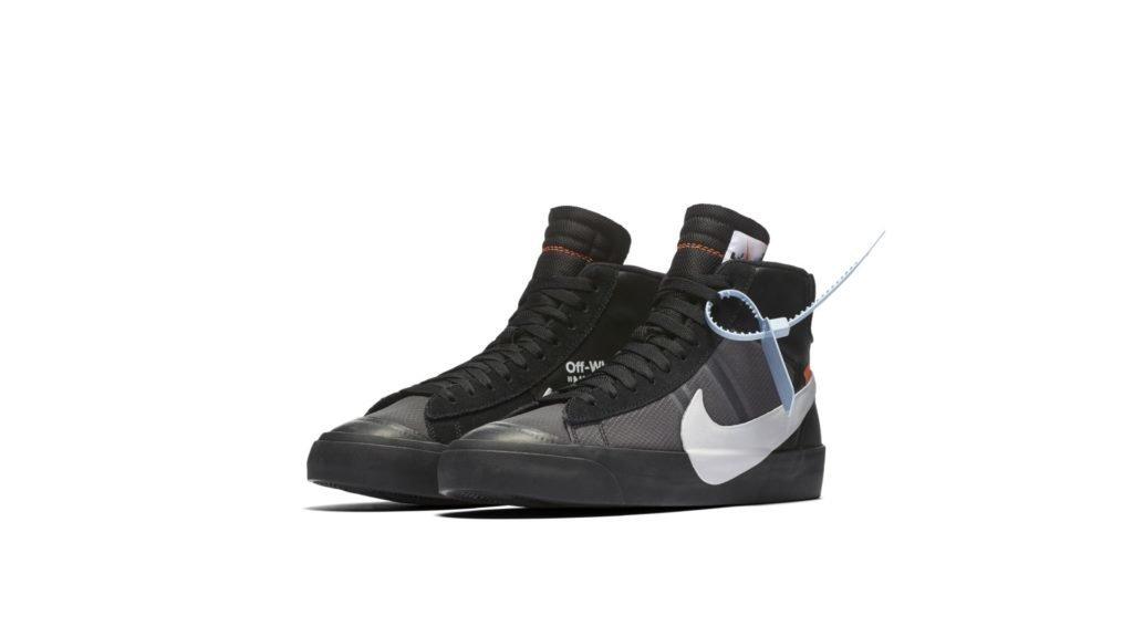 Off White X Nike Blazer Mid 'Grim Reaper' (AA3832-001)