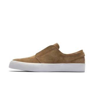 Nike SB Zoom Janoski HT Slip-on Skateschoen voor heren - Bruin Bruin