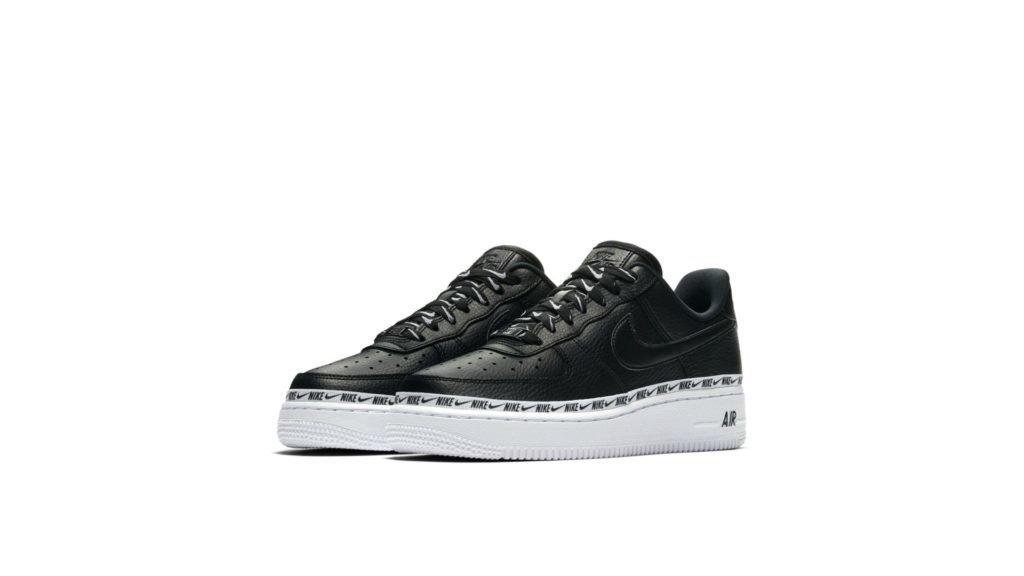 Nike WMNS Air Force 1 '07 Premium 'Black' (AH6827-002)