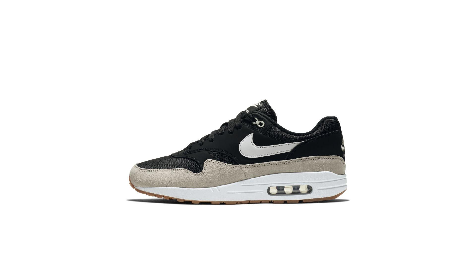 uk availability 08c3d c477d Nike Air Max 1 Black  White (AH8145-009)