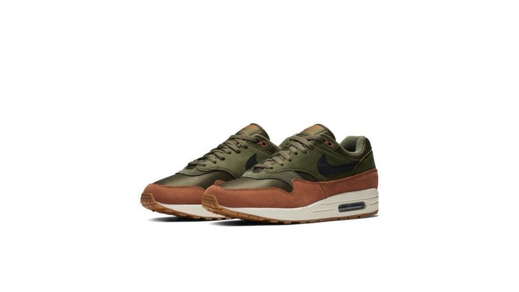 Nike Air Max 1 'Green/Brown' (AH8145-301)